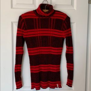 WOOLRICH WOMENS FITTED TURTLENECK SWEATER